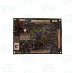 Sega Royal Ascot SD - Lamp Control Board - 837-7959