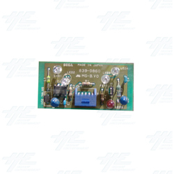 Sega Royal Ascot 2 DX - Infrared LED Board 2 - 839-0860
