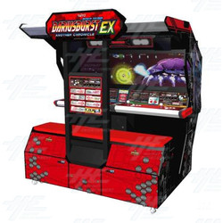 Darius Burst: Another Chronicle EX Arcade Machine