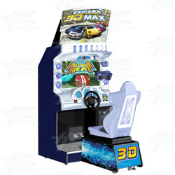 Maximum Heat 3D (Dead Heat) Arcade Machine