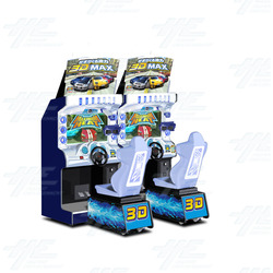 Maximum Heat 3D Twin Arcade Machine