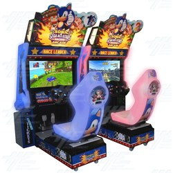 Sonic and Sega All-Stars Racing Twin Arcade Machine