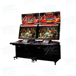 Tekken Tag Tournament 2 Unlimited Arcade Machine with 2x 32inch Noir Cabinets
