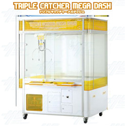 Triple Catcher Mega Dash Crane Machine