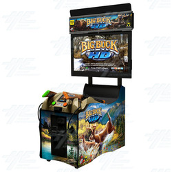 Big Buck HD Panorama Arcade Machine