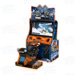 Snocross Winter X Games Arcade Machine