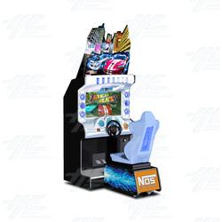 """Dead Heat 32"""" Arcade Driving Machine"""