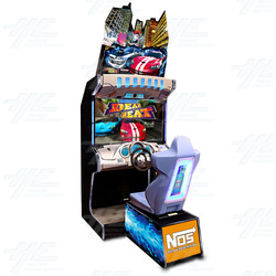 "Dead Heat 42"" Arcade Driving Machine"