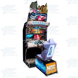 """Dead Heat 42"""" Arcade Driving Machine"""