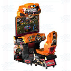 "Fast and Furious Super Cars 42"" DLX Arcade Machine"
