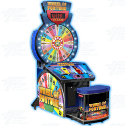 Wheel of Fortune Deluxe Redemption Machine