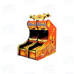 Pac-Man Ghost Bowling Arcade Machine