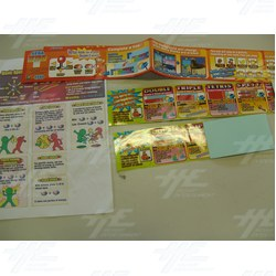 Assorted Set of Player Instructions 1
