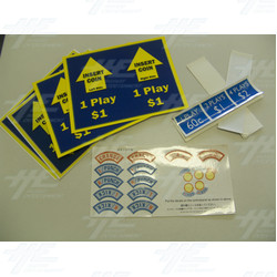Assorted Set of Player Instructions 8