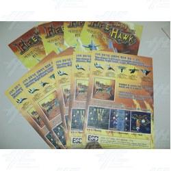Fire Hawk Poster Set