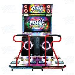 Pump It Up Fiesta 2 TX 2013 Arcade Machine