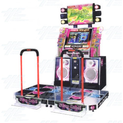 Dancing Stage Fusion Music Arcade Machine