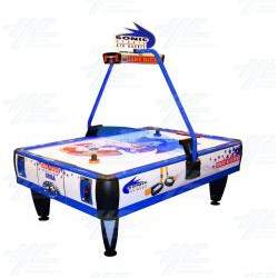 Sonic 4 Player Air Hockey Table