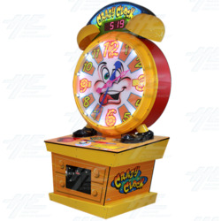 Crazy Clock Ticket Redemption Machine