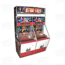Star Trek 1 Player Ticket Pusher Machine