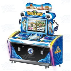 Around the World Coin Pusher Machine