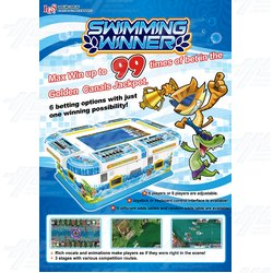 Swimming Winner Arcade Machine