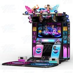 Dance Central 2 Music Arcade Machine