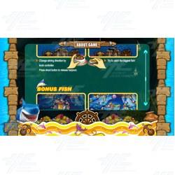 Fish Lagoon Ticket Redemption Arcade Machine