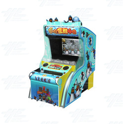 Crazy Penguin Park 3D Arcade Machine