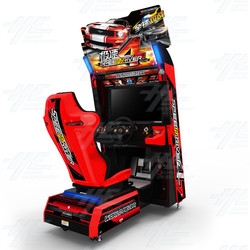 Speed Driver 4: World Fever Arcade Driving Machine
