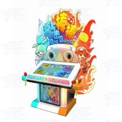 Big Big Bang Hammer Kiddie Redemption Arcade Machine