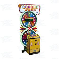 Double Spin Ticket Redemption Arcade Machine