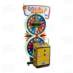 Double Spin Ticket Redemption Machine