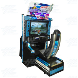 Metal Driving Arcade Cabinet Only (Initial D5 Style)