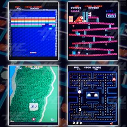 Blue Elf 412-in-1 Classic Arcade Game Board