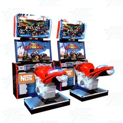 Dead Heat Riders Arcade Machine