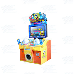 Spongebob: Hit the Beat Arcade Machine
