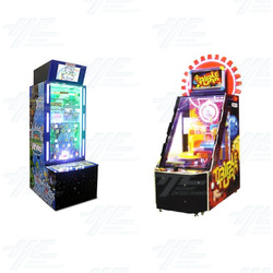 Ball Spectacular and Triple Turn Redemption Arcade Machine Set