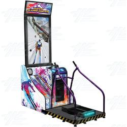 Super Alpine Racer Arcade Machine