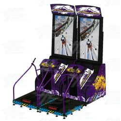 Super Alpine Racer Twin Arcade Machine