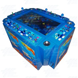 Ocean King Baby Arcade Machine with Note Acceptor and Thermal Printer