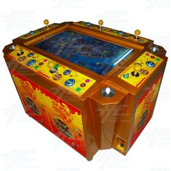 King of Treasures English Version 6 Player Arcade Machine (located in China)