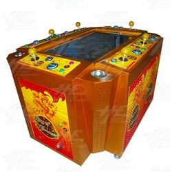 King of Treasures Baby Arcade Machine with Note Acceptor and Thermal Printer
