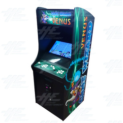 Game Wizard Venus Arcade Machine (Missing Grill)
