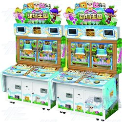 Animal Kingdom 4 Player Arcade Machine (2 Linked Units)