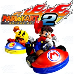 Mario Kart GP 2 Arcade Game Board (Japanese Version)