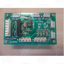 Konami PWB451381 PCB