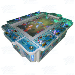 Seafood Paradise 2 58 inch Arcade Machine with Note Acceptor and Thermal Printer