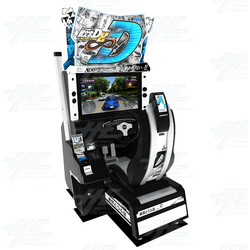Initial D ARCADE STAGE 8 Infinity Twin Driving Machine with Server