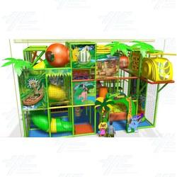 3D Softplay Jungle Gym
